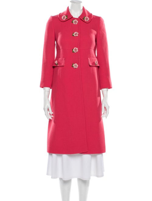 Dolce & Gabbana Trench Coat Pink