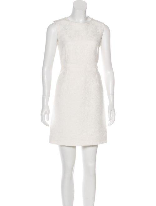 Dolce & Gabbana Sleeveless Mini Dress White