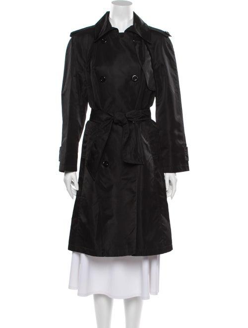Dolce & Gabbana Vintage Vintage Trench Coat Black