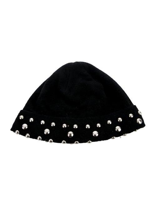 Dolce & Gabbana Cashmere Knit Beanie Black