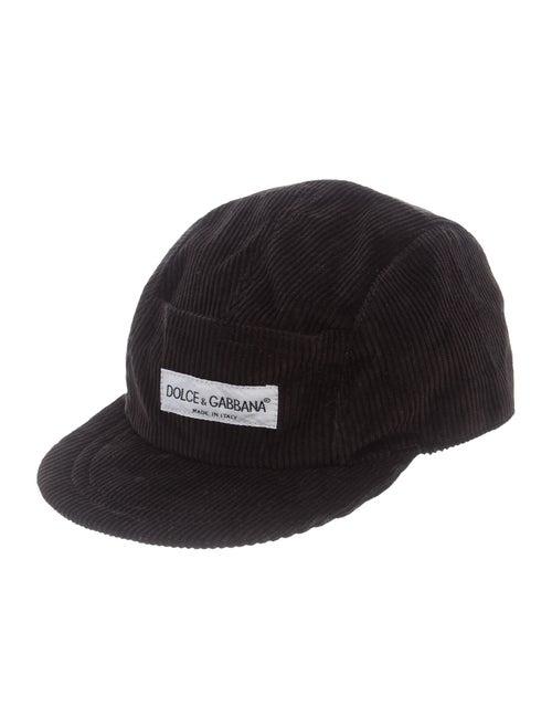 Dolce & Gabbana Corduroy Baseball Cap
