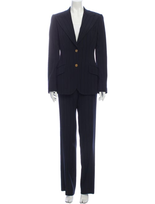 Dolce & Gabbana 2000's Virgin Wool Pantsuit Wool