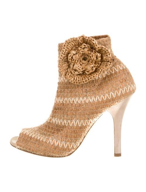 Dolce & Gabbana Raffia Boots