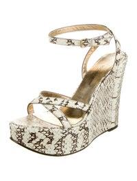 Dolce & Gabbana Snakeskin Sandals