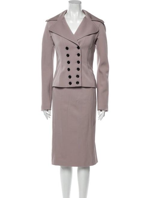 Dolce & Gabbana Virgin Wool Skirt Suit Wool