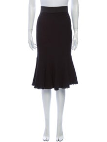 Dolce & Gabbana Midi Length Skirt