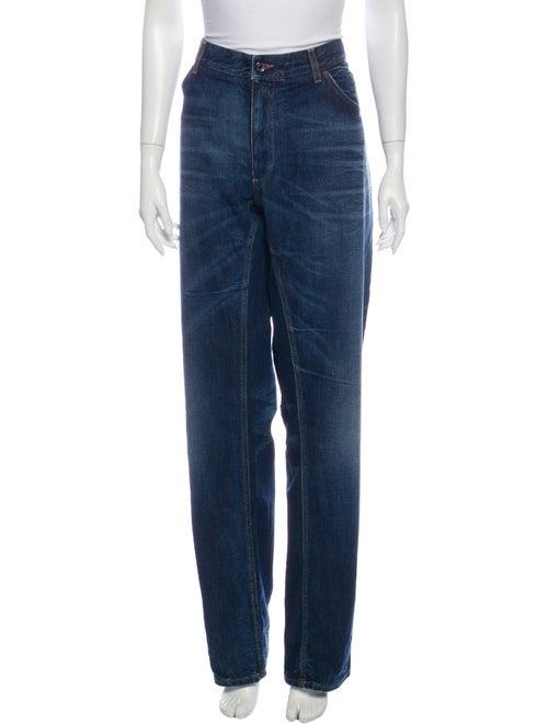 Dolce & Gabbana Mid-Rise Wide-Leg Jeans Wide Leg J