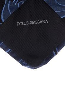 Dolce & Gabbana Patterned SIlk Tie w/ Tags