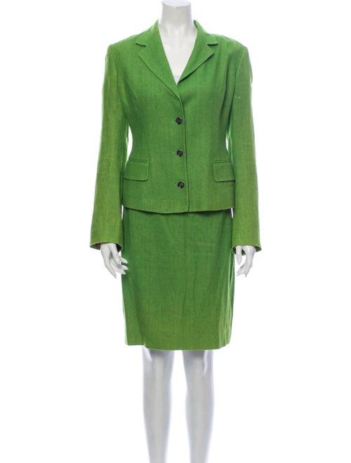 Dolce & Gabbana Skirt Suit Green