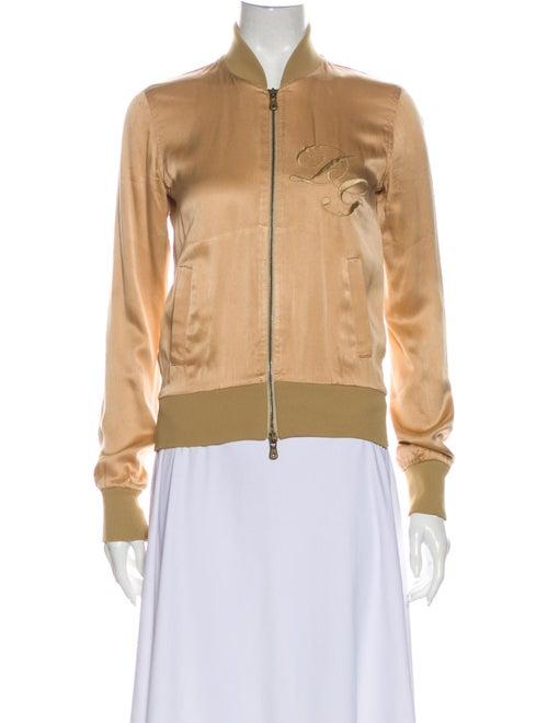 Dolce & Gabbana Silk Bomber Jacket