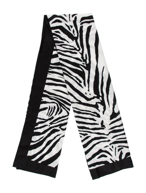 Dolce & Gabbana Zebra Print Parero Black