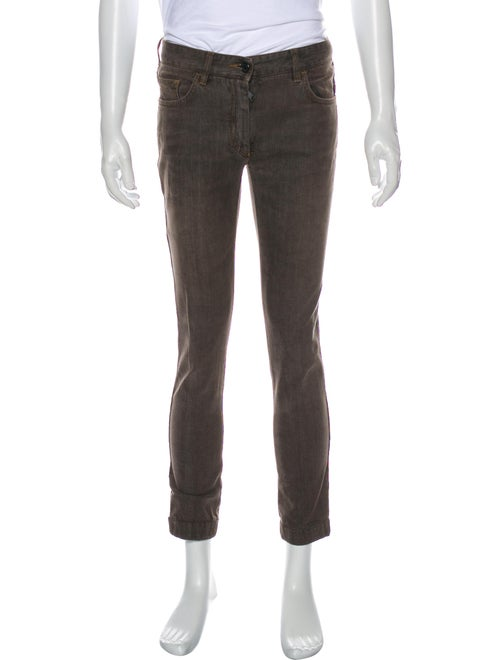 Dolce & Gabbana Slim Fit Jeans Brown