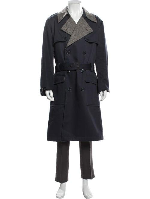 Dolce & Gabbana Trench Coat Blue