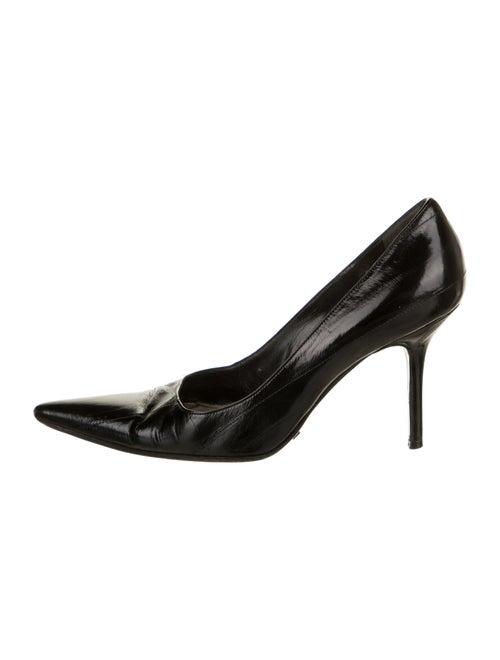 Dolce & Gabbana Leather Pumps Black