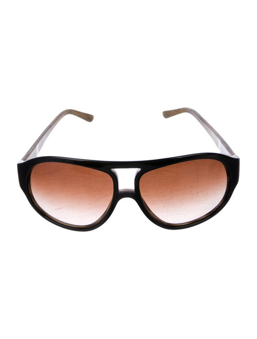 Dolce & Gabbana Gradient Aviator Sunglasses black - image 1