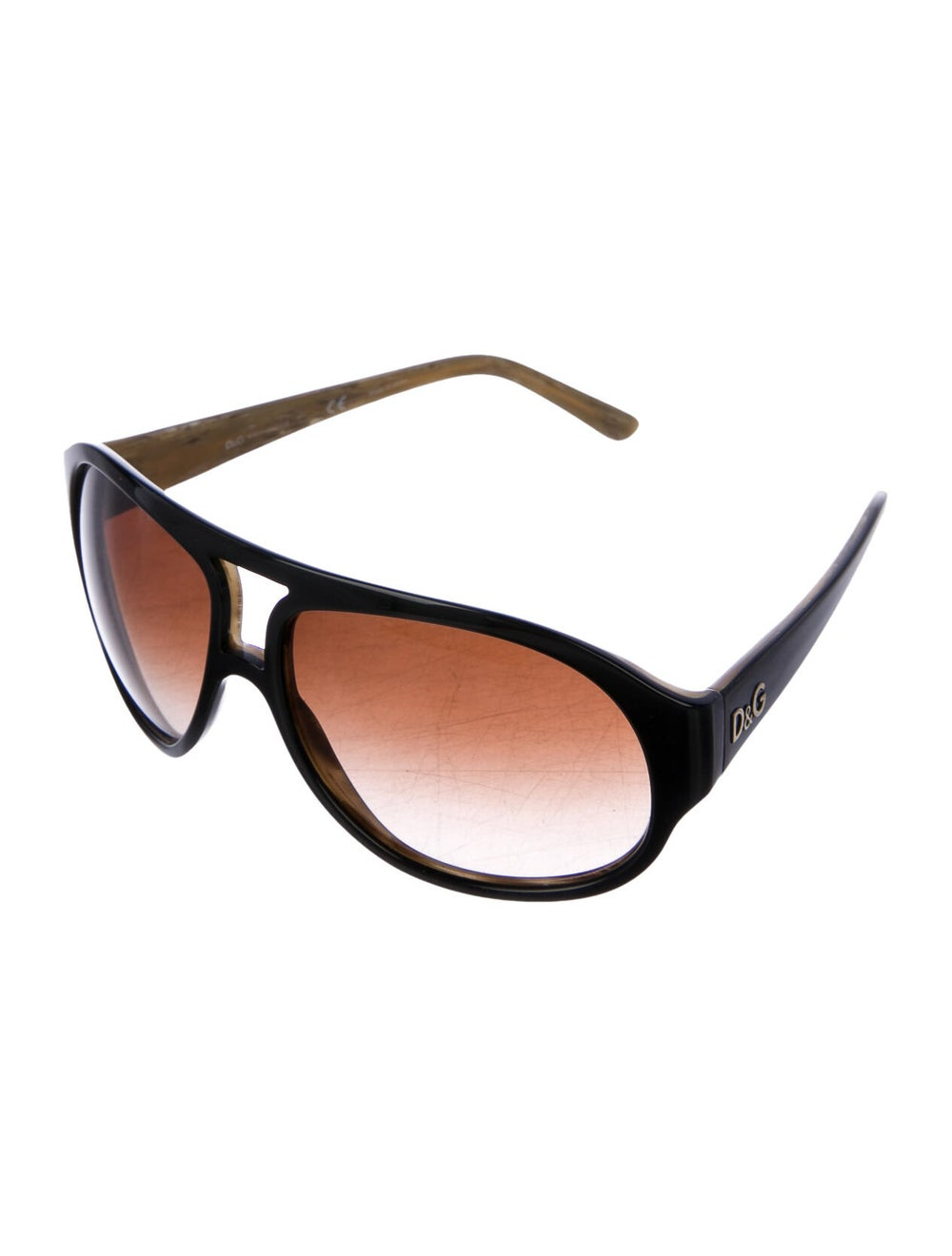 Dolce & Gabbana Gradient Aviator Sunglasses black - image 2