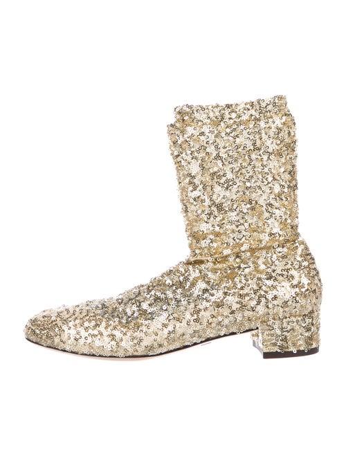 Dolce & Gabbana Boots Gold