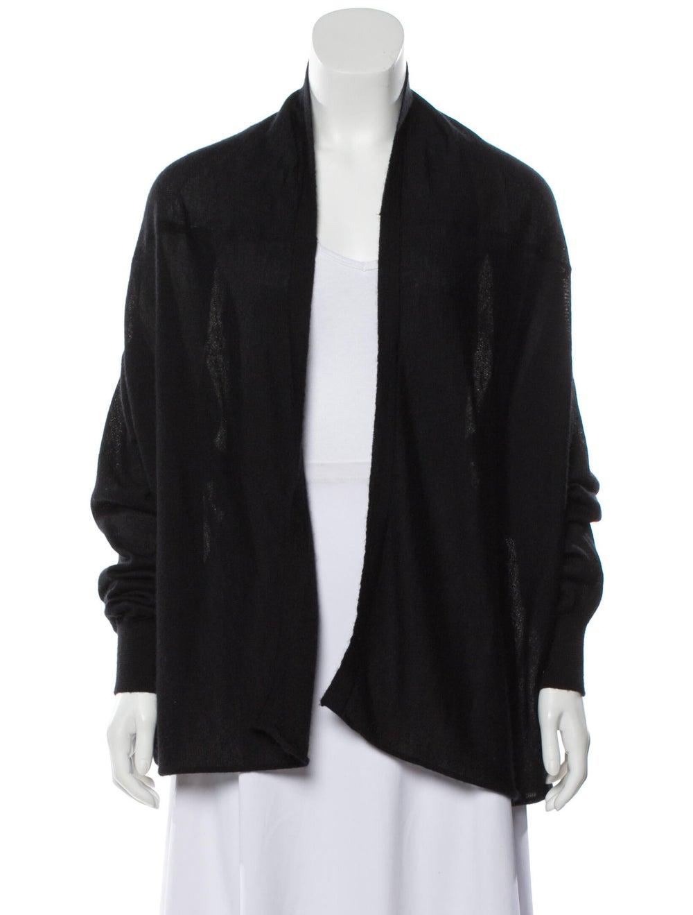 Dolce & Gabbana Cashmere and Silk-Blend Knit Black - image 1