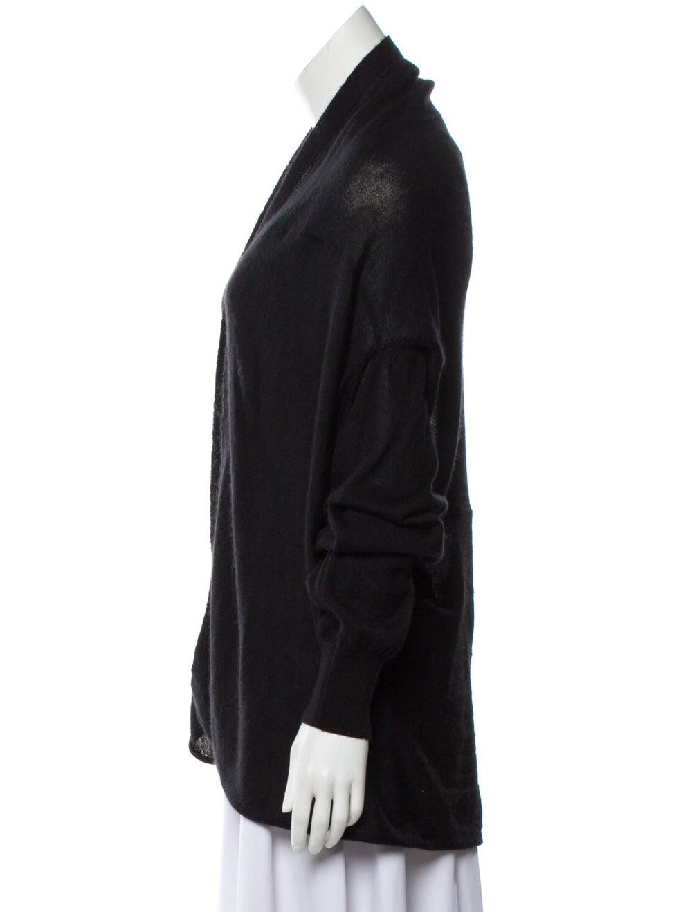 Dolce & Gabbana Cashmere and Silk-Blend Knit Black - image 2