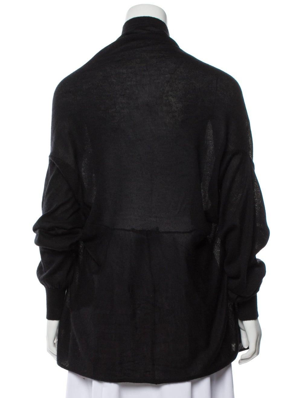 Dolce & Gabbana Cashmere and Silk-Blend Knit Black - image 3