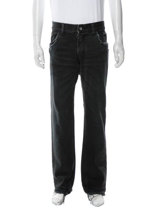 Dolce & Gabbana Straight-Leg Jeans Blue