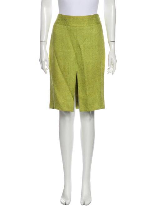 Dolce & Gabbana Knee-Length Skirt Green