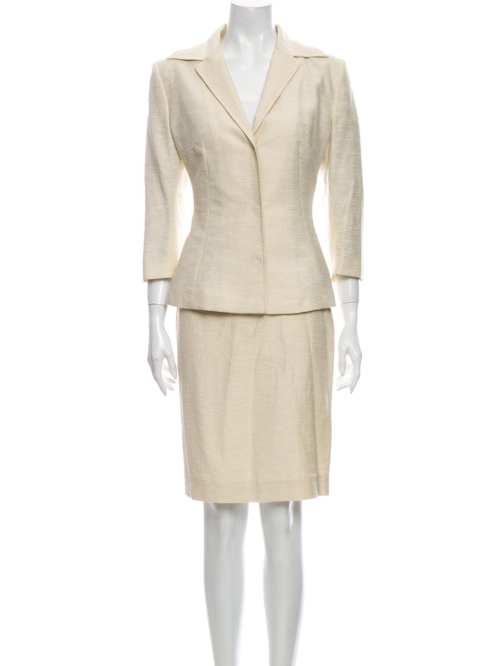 Dolce & Gabbana Linen Skirt Suit - image 1