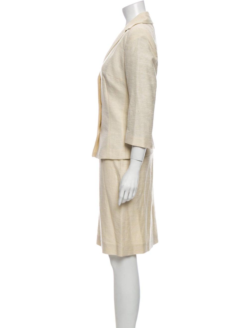 Dolce & Gabbana Linen Skirt Suit - image 2