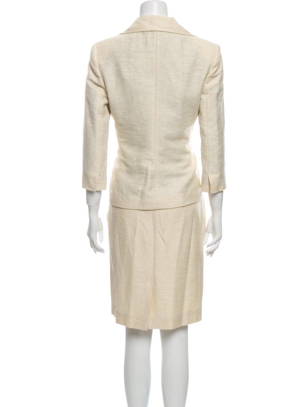 Dolce & Gabbana Linen Skirt Suit - image 3