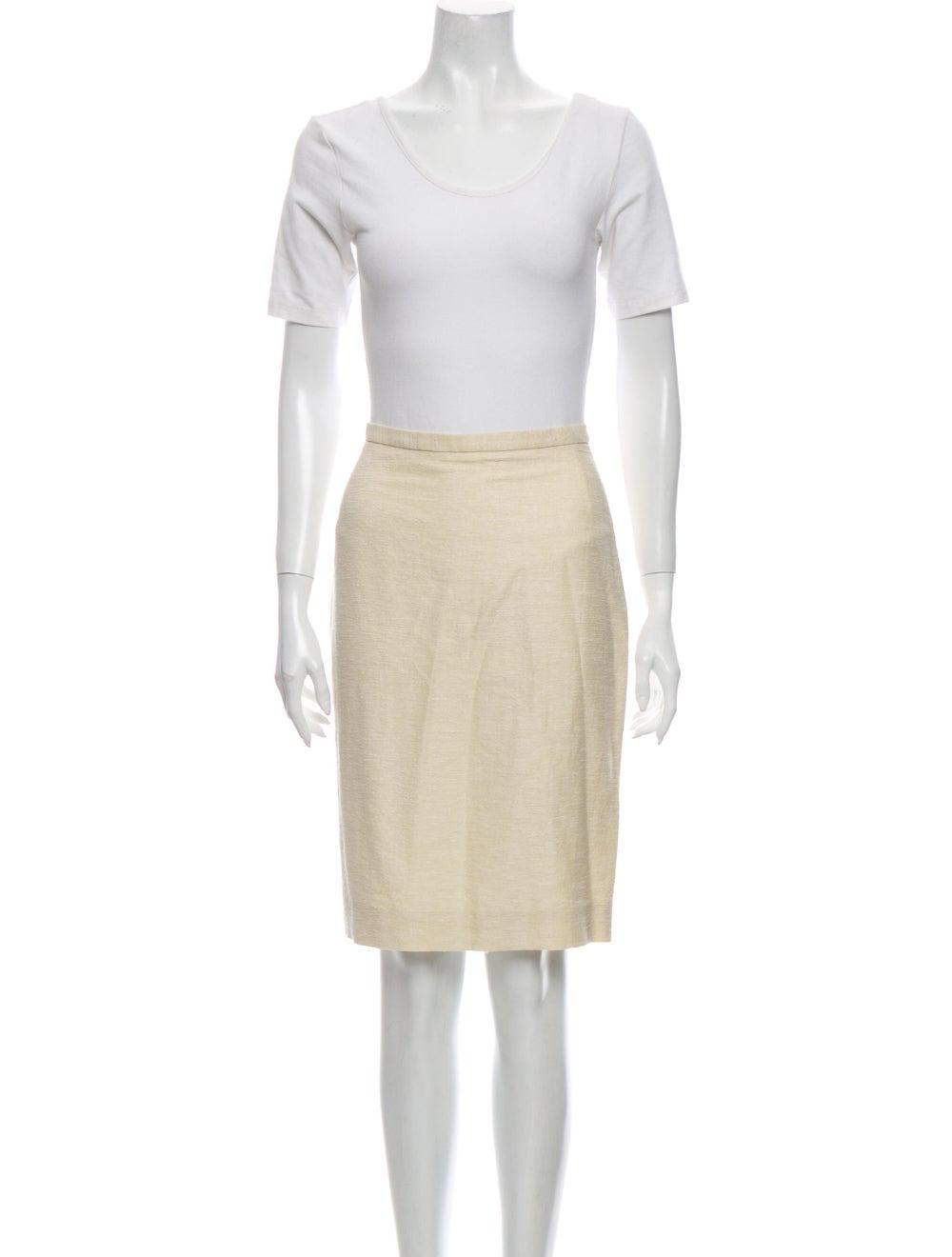 Dolce & Gabbana Linen Skirt Suit - image 4