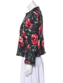 Dolce & Gabbana Floral Matelassé Jacket