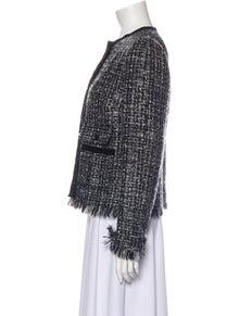 Dolce & Gabbana Wool Tweed Pattern Evening Jacket