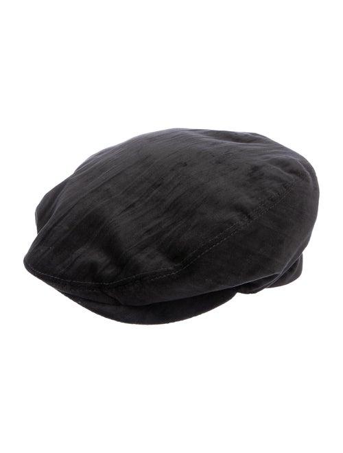 Dolce & Gabbana Velvet Newsboy Hat