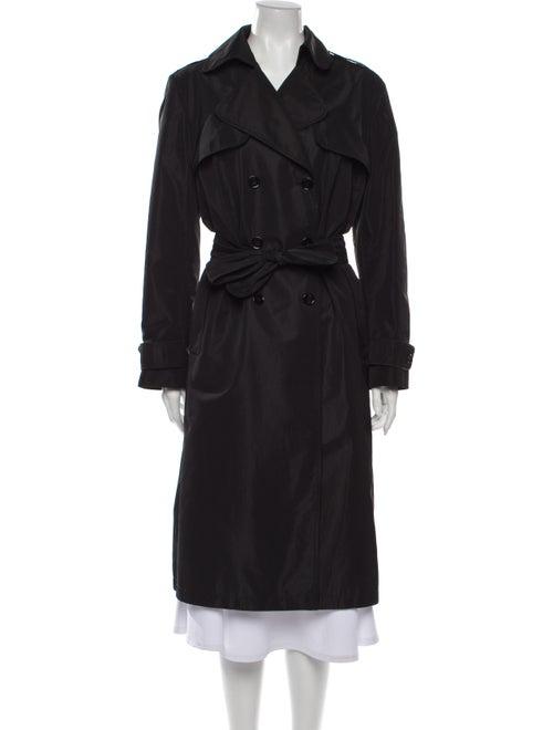 Dolce & Gabbana Vintage Trench Coat Black