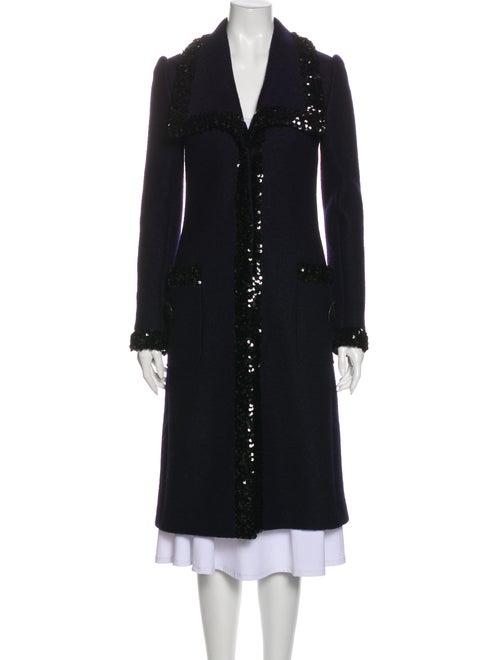 Dolce & Gabbana Coat Blue