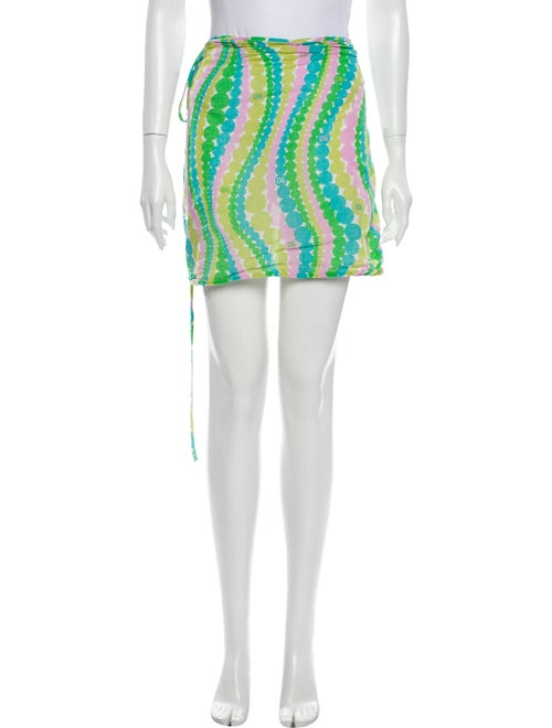 Dolce & Gabbana Printed Cover-Up Green