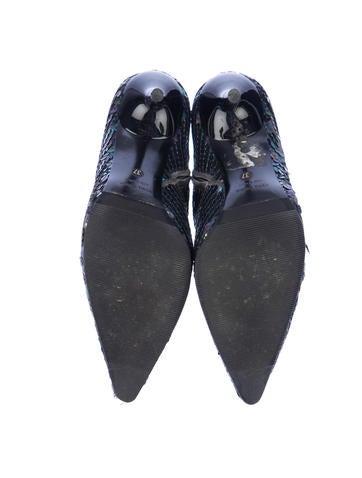 Sequin Boots