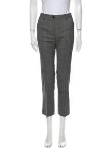 Dolce & Gabbana Virgin Wool Straight Leg Pants