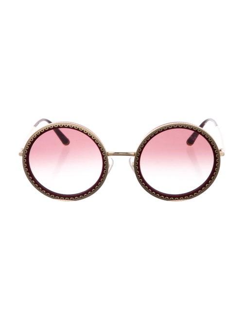 Dolce & Gabbana Round Gradient Sunglasses - image 1