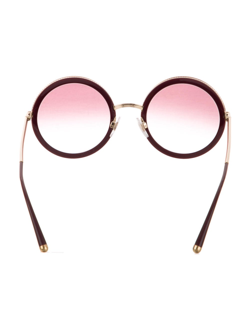 Dolce & Gabbana Round Gradient Sunglasses - image 3
