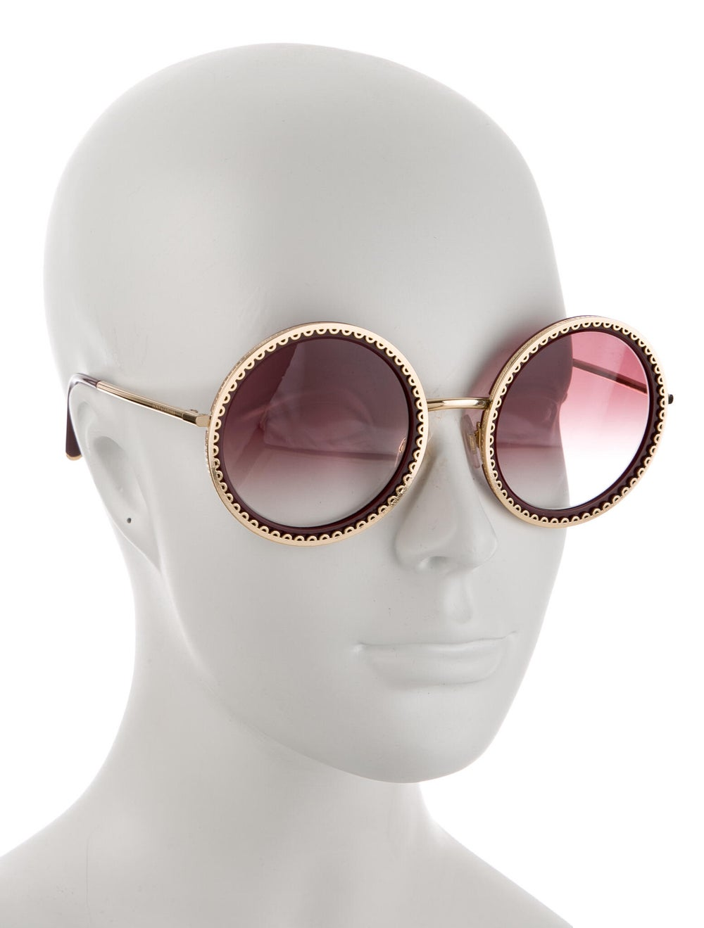 Dolce & Gabbana Round Gradient Sunglasses - image 4