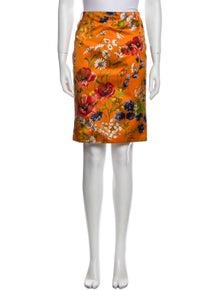 Dolce & Gabbana Vintage Knee-Length Skirt