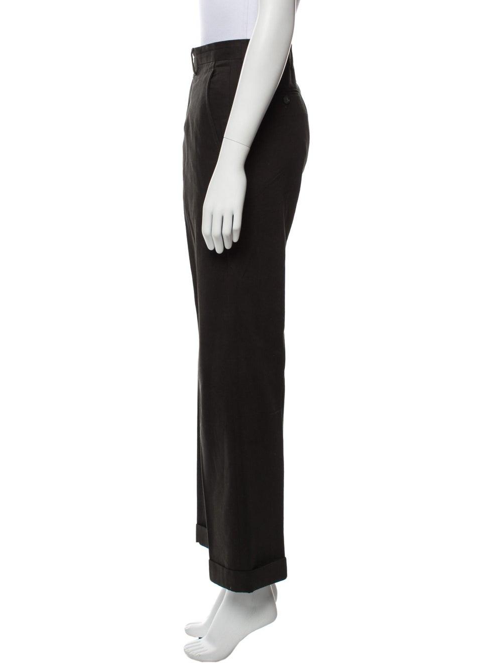 Dolce & Gabbana Wide Leg Pants Black - image 2