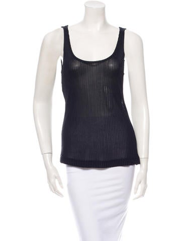 Dolce & Gabbana Ribbed Top None