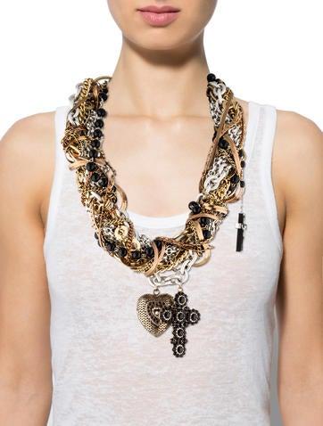 Multi-Strand Pendant Necklace