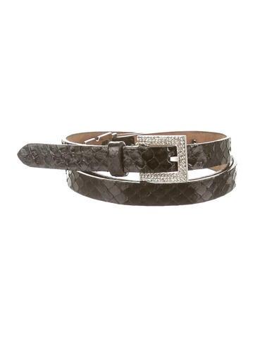 Snakeskin Belt