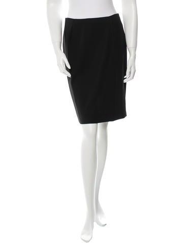 Dolce & Gabbana Wool Skirt None