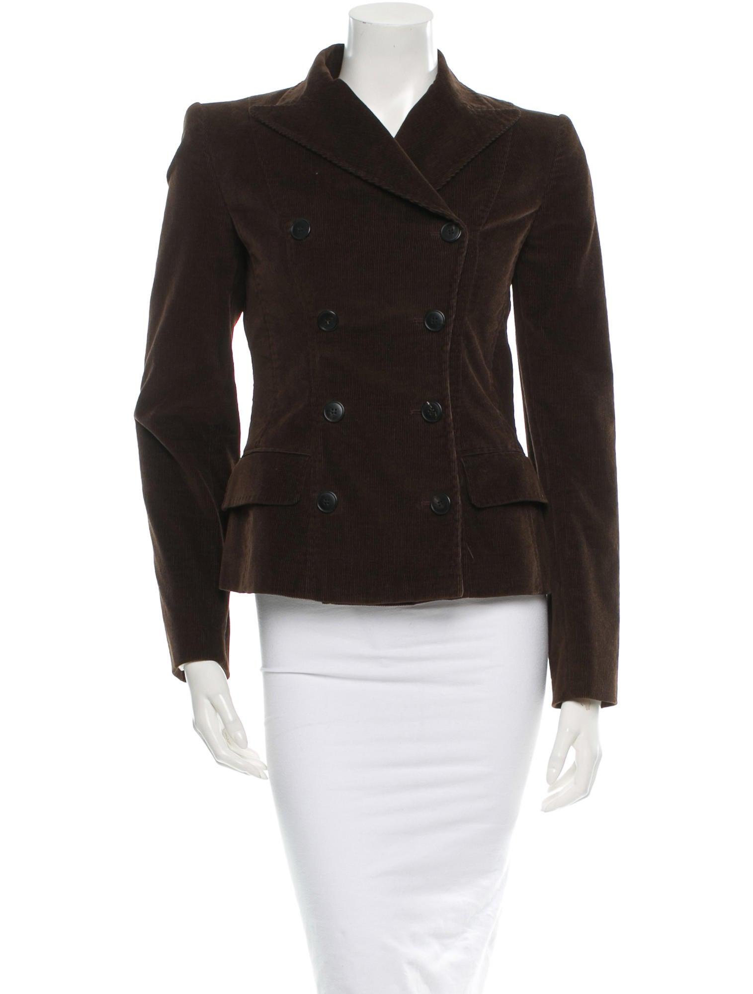 dolce gabbana jacket clothing dag44853 the realreal. Black Bedroom Furniture Sets. Home Design Ideas