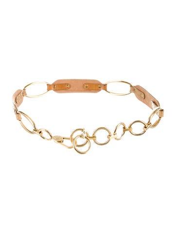 Snakeskin Chain Belt