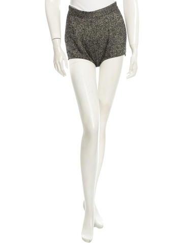 Dolce & Gabbana Wool Shorts None